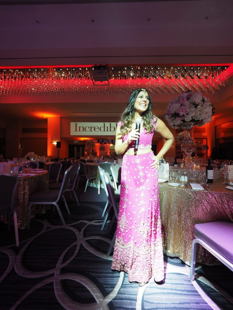 MC FOR INCREDIBLE INDIA GALA DINNER - DEC 19