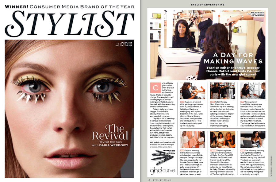 STYLIST MAGAZINE - SEPT 14