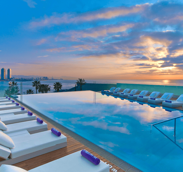 The W Hotel Swimming pool
