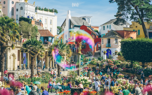 Portmeirion village Festival no.6