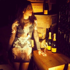 The Style Traveller Veuve Clicquot brand ambassador halloween party