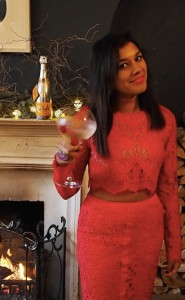 Happy xmas from The Style Traveller Bonnie Rakhit Veuve Clicqout Rich