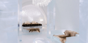 Ice hotel duluxe suite The Style Traveller.com
