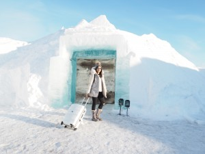 Chilling At The Ice Hotel, Sweden