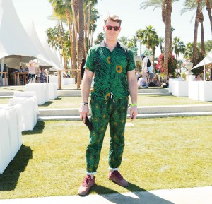Mens fashion at Coachella