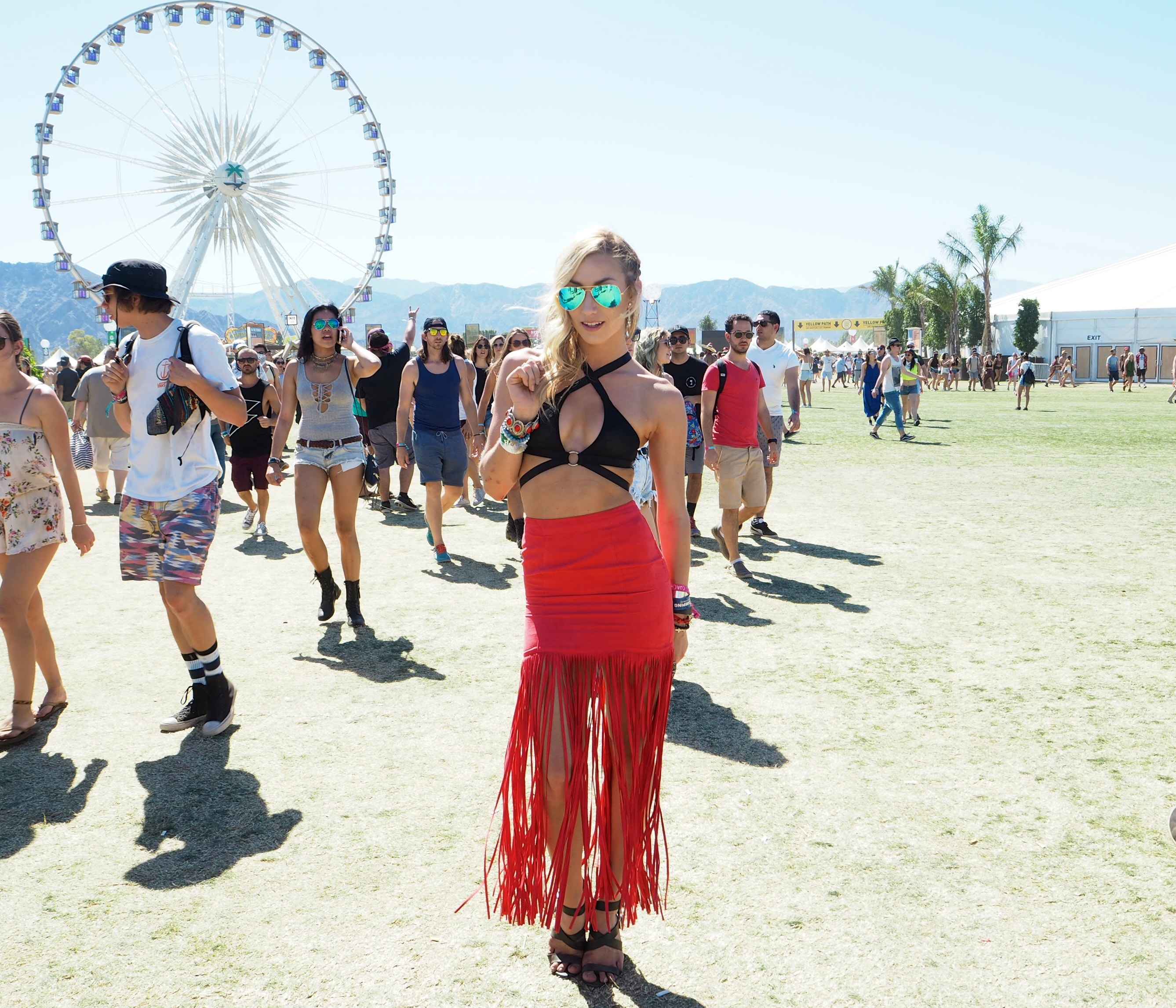 Cool Girls At Coachella Festival The Style Traveller