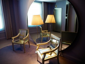 The clift Hotel bedroom The Style Traveller san Francisco California