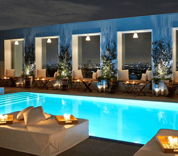 Mondrian hotel LA West Hollywood