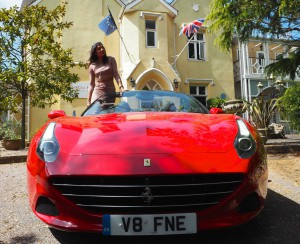 Fancy a Ferrari for the weekend style traveller