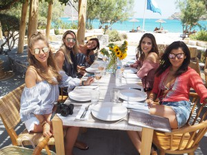 Lunch Isola beach club