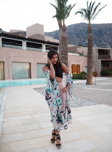 Evening wear holiday to greece