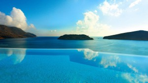 Private Infinity Pool Blue palace