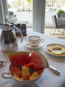 Breakfast luxury hotel Amsterdam