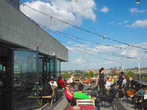 Canvas rooftop bar Amsterdam