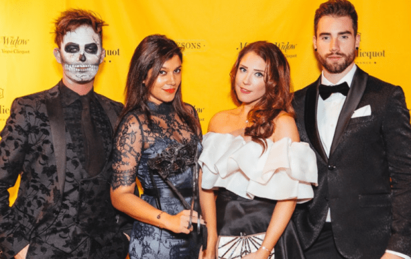 The Style Traveller halloween party
