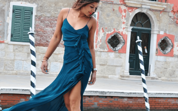 Burano - Festive Fashion Shoot emerald