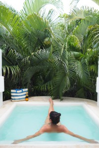 the private pool esencia hotel style traveller