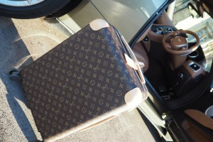 Louis Vuitton Marc Newsome style traveller luggage