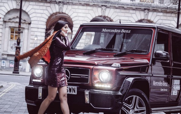 Bonnie Rakhit Style Traveller Merecedes London Fashion Week