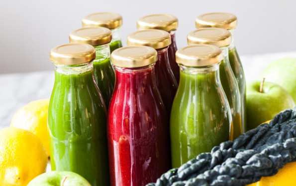 Green and red juices detox cru8 London