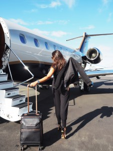 Ted baker Victor private jet The Style Traveller