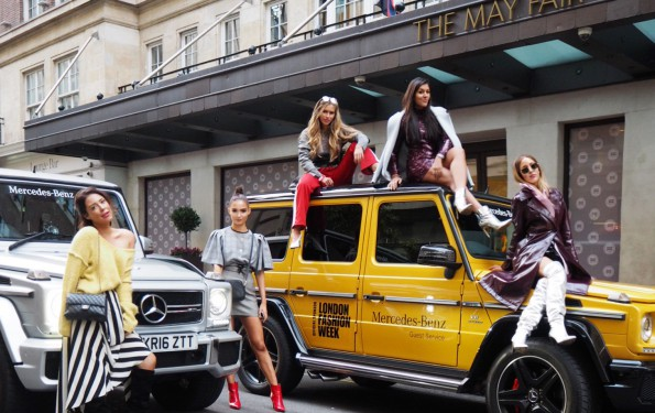 Bonnie Rakhit London Fashion Week Lorna Luxe Maya Malnar mercedes benz