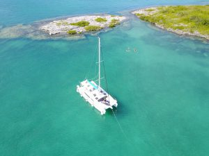 seasplash catamaran cruise drone Bermuda
