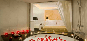 cool hotels in Seville spain romantic bath tub