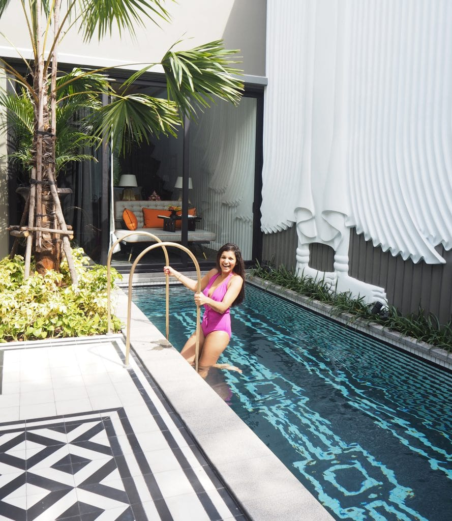 Bonnie Rakhit Cambodia Shinta Mani luxury hotel private pool villa