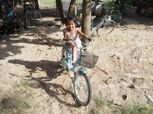 Shinta Mani Foundation Bicycles for children to get to school