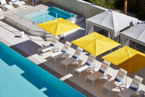 Hotel Paseo_Pool where to stay palm springs