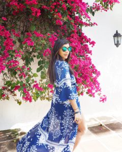 Style traveller Bonnie Rakhit where to stay luxury Marbella Nobu hotel revolve bougonvillea