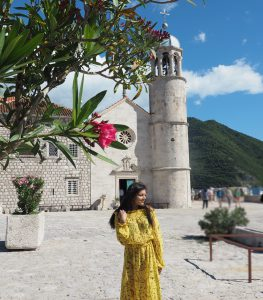 beautiful Kotor blue water lakes Bonnie Rakhit