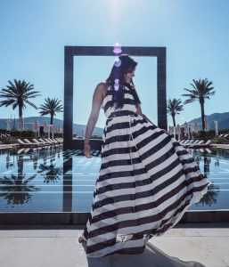 Bonnie Rakhit Style Traveller at Regent porto Montenegro luxury hotel
