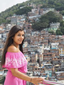Beautiful rooftop favela view at Miramar by Windsor Rio de Janeiro Brazil Bonnie Rakhit style traveller