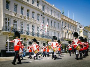 MGallery sofitel Windsor Castle hotel changing of the guard Mini Adventure Uk