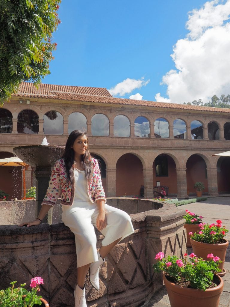 Best Luxury Hotels And Restaurants In Cusco Peru The Style Traveller Someday Pink Floral Embroidery Top
