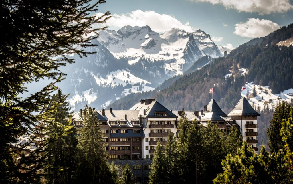 The Alpina Gstaad - Luxury Ski hotel with mountain view Bonnie Rakhit