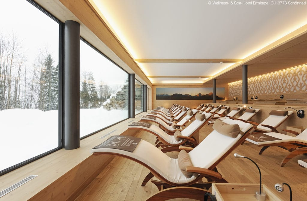 ERMITAGE luxury hotels in Gstaad spa