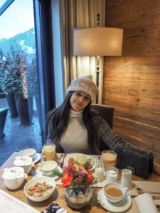 The Alpina Gstaad - Madonna's £17,000 A Night Ski hotel breakfast Bonnie Rakhit