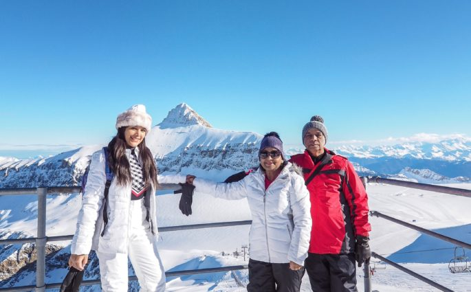 Bonnie Rakhit style traveller, family ski holiday