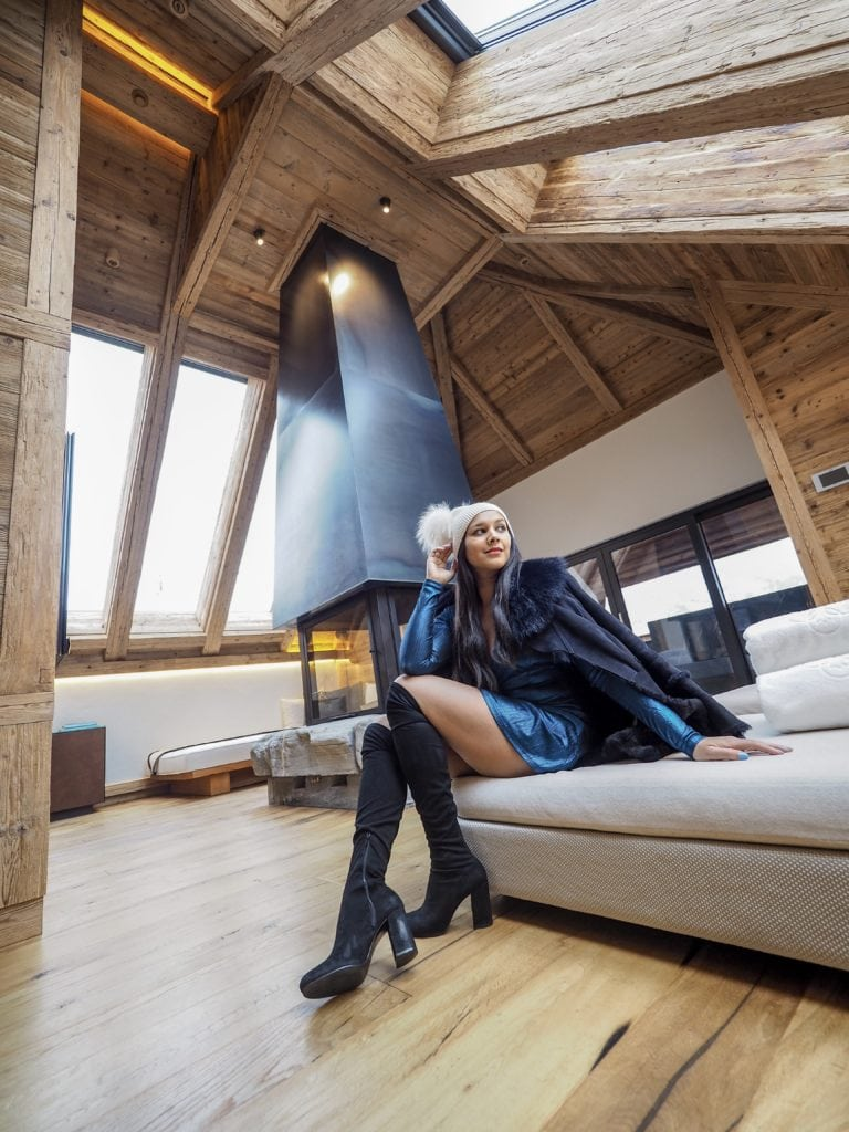 The Alpina Gstaad - Madonna's £17,000 A Night Ski bedroom suite Bonnie Rakhit