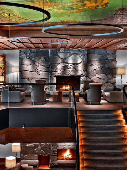 The Alpina Gstaad - Madonna's £17,000 A Night Ski hotel world best hotels