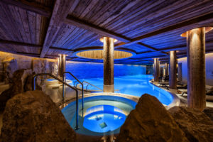 Six Senses Spa The Alpina Hotel gstaad Bonnie Rakhit pool