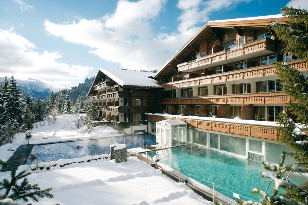 Winter ERMITAGE luxury hotels in Gstaad