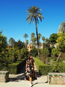Seville Palace of Alcazar film location for Game of Thrones Bonnie Rakhit
