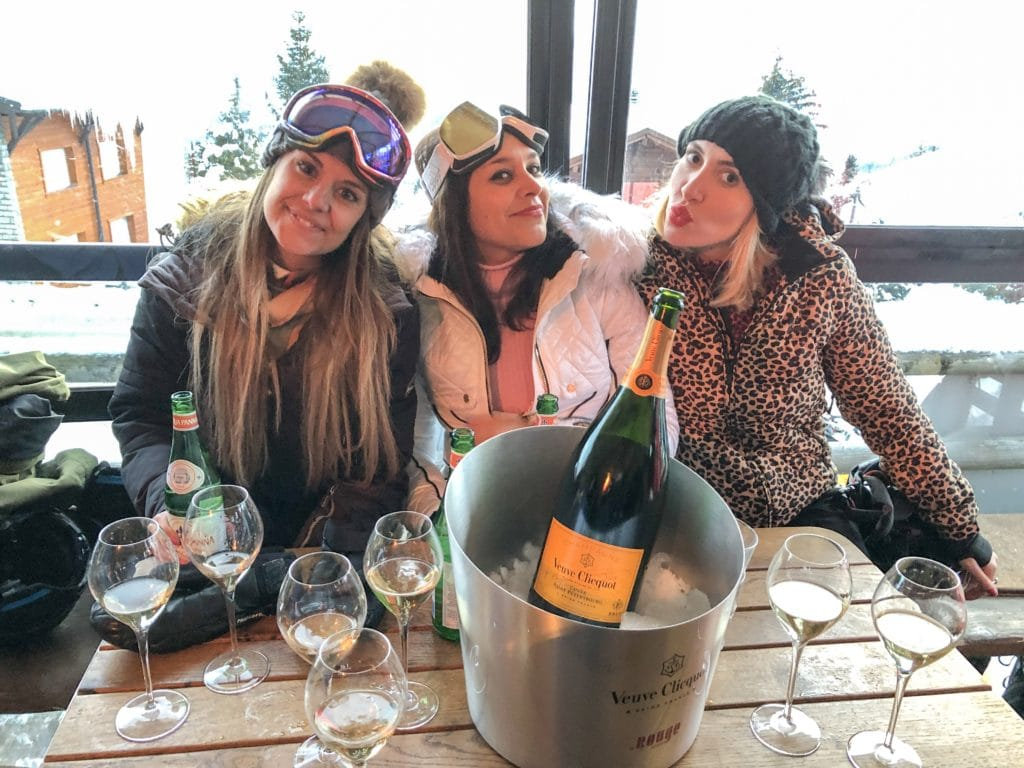 Experimental Chalet, Verbier - Coolest New Hotel in The Alps Bonnie Rakhit Apres Ski at Rouge