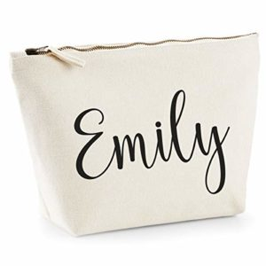 Amazon Handmade Personalised Hand Made Makeup Bag