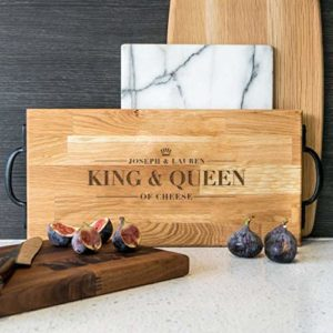 amazon handmade wooden+chopping+board couples gifts