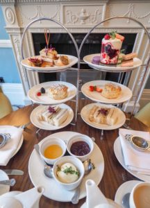 Where To Take Your Mum For The Perfect Mother's Day Weekend afternoon tea Bonnie Rakhit cakes